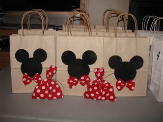 Mickey mouse bags